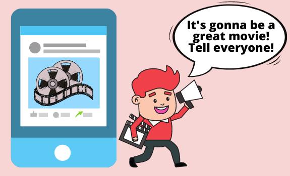 Way to Raise Funds for a Film through a Social Media Crowdfunding Platform
