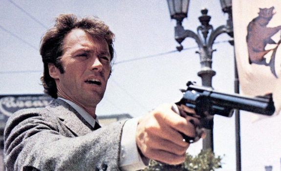 """Clint Eastwood Starring in """"Dirty Harry"""""""