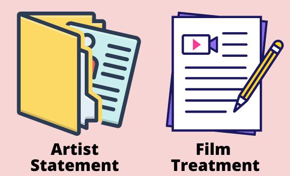 Portfolio for a Government Film Grant